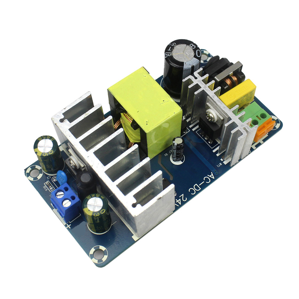 Free Shipping DC 24V 4A 6A To AC 100 240V Switching Power Supply Module