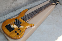 Custom 7 string Nature Chinese bass guitar b37