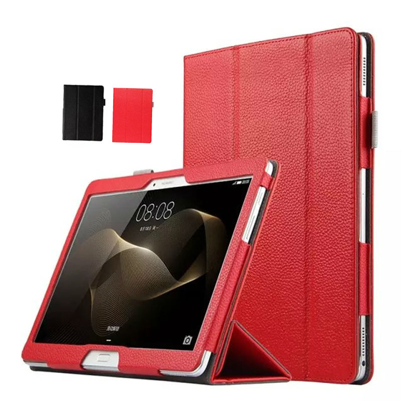 MediaPad M2 10.0 A01L A01W Real Leather Tablet Case Cover 10.1'' Smart Fundas Stand For Huawei MediaPad M2 10.0 A01L A01W Shell cover case for huawei mediapad m3 youth lite 8 cpn w09 cpn al00 8 tablet protective cover skin free stylus free film