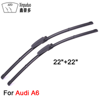 XPD Front Car Windshield Wiper Blade For Audi A6 Windscreen Wipers 22 Car Accessories Rubber Car