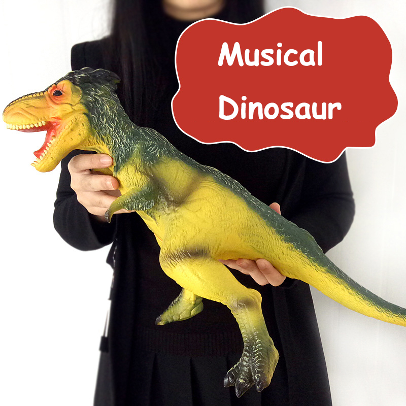 Big Size Musical The Most Classic Ancient Simulation Jurassic World Park Dinosaur Tyrannosaurus Model big one simulation animal toy model dinosaur tyrannosaurus rex model scene