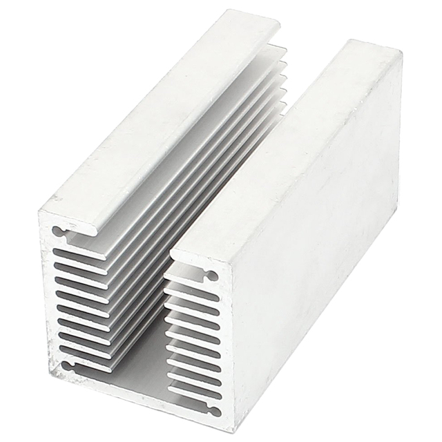 hot-1 x silver-aluminum radiator U 80 * 40 * 40mm
