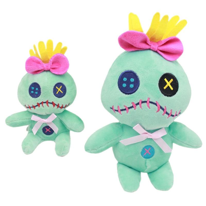 Kawaii 10-22cm Lilo And Stitch Scrump Animals Plush Toys Cartoon Dolls Stich Soft Stuffed For Kids Birthday Gifts Hot