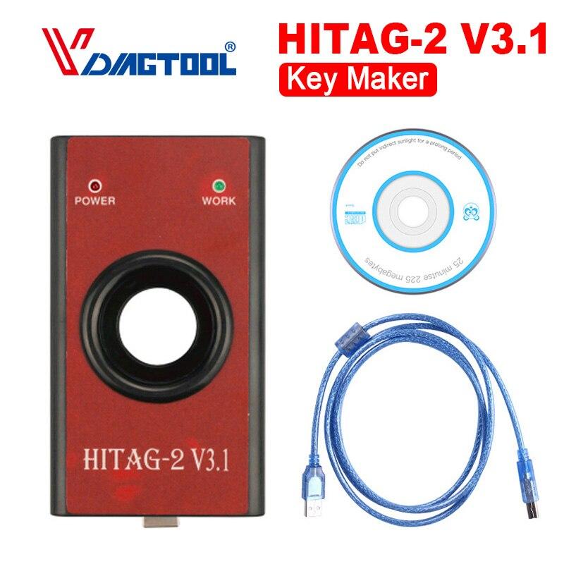 2018 Car Styling Auto Key Makers Hitag2 V3.1 Auto Keys Programming HiTag 2 V3.1 KEY Programmer Tool immo, remote, read PIN, VIN