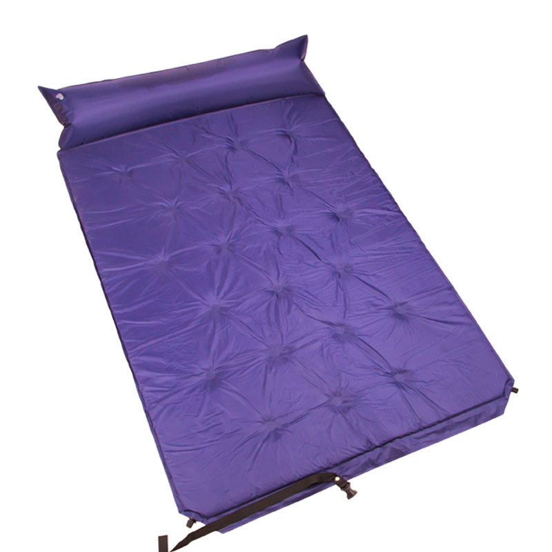 175*110*2cm thickened automatic inflatable camping mat moisture pad picnic camping pad sleeping pad outdoor tent mattress double