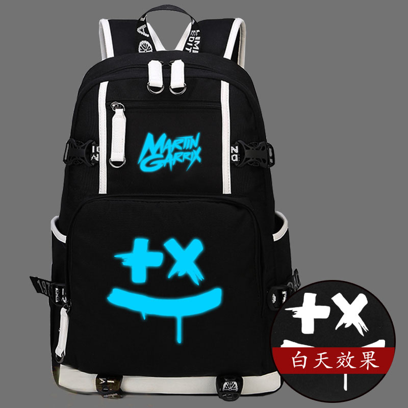 Hot Martin Garrix Backpack Canvas Bag Luminous Schoolbag Travel Bags hot martin garrix backpack canvas bag luminous schoolbag travel bags