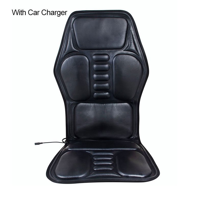 Electric Car Seat Massager Heating Massage Back Neck Waist Relieve Fatigue Pain Home Office Chair Massage
