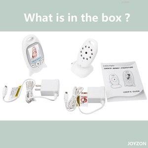 Image 5 - Babyphone vidéo sans fil, avec caméra de sécurité, vision nocturne, audio, 2 voies, moniteur de température, avec 8 berceuses