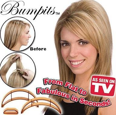 US $6 32 |Big Happi Hair Comb Hair Accessories: Bumpits Hair Volumizing  Inserts in Big Happi Hair Comb Hair Accessories: Bumpits Hair Volumizing