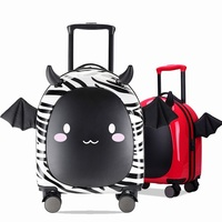 Brand Children Rolling Luggage Wheels Travel Bag Cute Cartoon Trolley Case Carry on Student Kid Suitcase