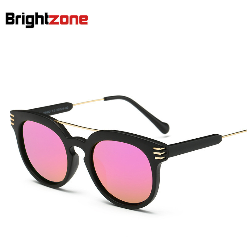 New Pattern Trend Polarized Light Sunglasses Metal Frame Sun