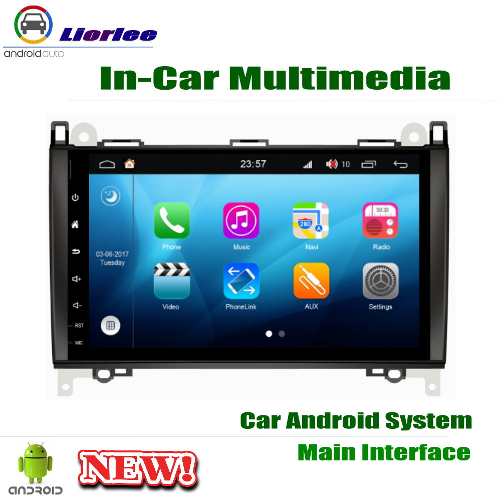 Carplayer Android System Core A53 PX5 9 HD IPS LCD Screen For Mercedes Benz A Class W169 2004 2012 Radio Player GPS Navi