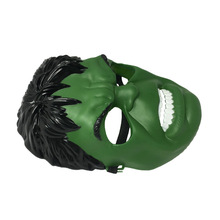 Halloween Incredible Hulk Green Giant Mask for Party Cosplay Costume Accessory Toy Gift Boy Kids hotsale minecraft game cardboard enderman creeper steve mask baby party cosplay cardboard steve heads mask toy for kids gift