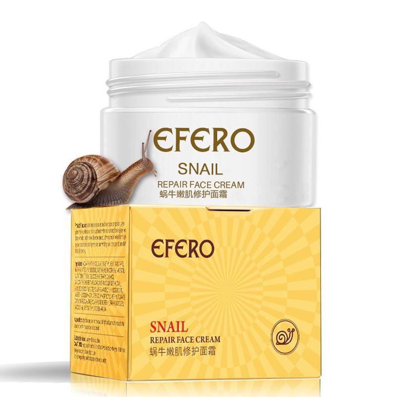 Efero Snail Cream Face Moisturizing Cream For Snail Repair Anti Aging Face Whitening Wrinkles Firming Skin Care Cream