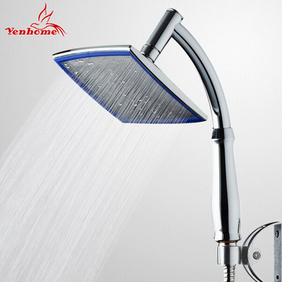 ABS Chrome 8 Large Square Shower Head Over-head Rainfall Shower Sprayer Bathroom Top Shower Head / Shower Hose / Bracket Rack elp ip camera 720p indoor outdoor network 1 0mp mini hd cctv security surveillance camera onvif poe h 264