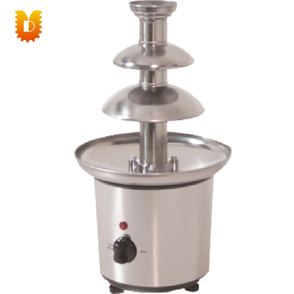 201 stainless steel 3 layers chocolate fountain for birthday