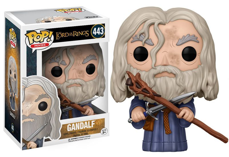 US $23 59 |Funko pop Official Movies: The Lord of the Rings Gandalf Vinyl  Action Figure Collectible Model Toy with Original Box-in Action & Toy