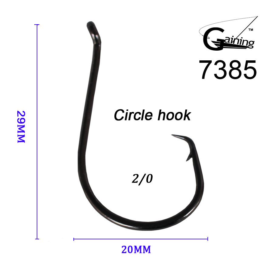Buy 50pcs 2 0 high carbon stainless steel for Fishing hooks sizes