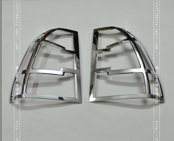 Car Styling Rear lamp Tail font b Light b font Cover bezel Trim part ABS For