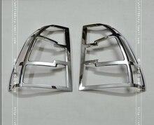 Car Styling Arrière lampe Feu arrière Couverture lunette Garniture partie ABS Pour Sportage 2008-2011