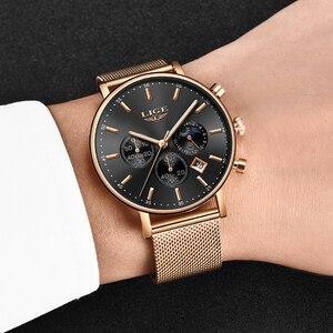 Image 5 - 2020 Nieuwe Vrouwen Gift Klok Luik Fashion Brand Quartz Horloge Dames Luxe Rose Gouden Horloge Vrouwelijke Horloge Vrouwen Relogio Feminino