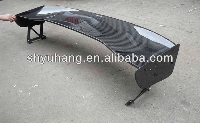 Car Styling CF Carbon Fiber Bodykit For Impreza GD WRX 7-9 Voltex 1400MM GT Rear Spoiler Wing