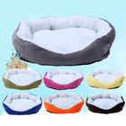 New Winter Warm Dog Bed Sofa Mat Cotton Dog Cot Kennel House Pet Sleeping Bed House for Puppy Small Dog Blanket Cushion Basket