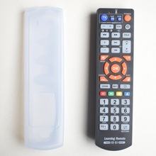 Универсальный пульт дистанционного управления с 45 клавишами и функцией обучения, контроллер для ТВ, STB,DVD,DVB,HIFI, L336 Работает на 3 устройствах.