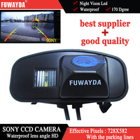 HD Car SONY CCD Rear View Camera Night Vision Night Parking Assistance Car Styling For Honda