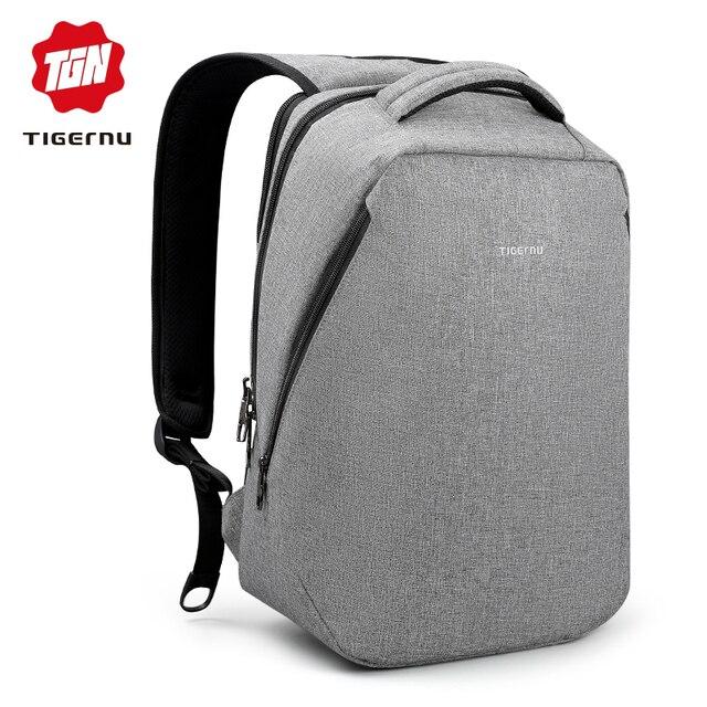 Tigernu марка прохладный городской рюкзак мужчины мужская свет тонкий  минималистский моды рюкзак женщин 14