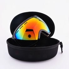 2017 New ski goggles double UV400 anti-fog big ski mask glasses skiing men women snow snowboard goggles ski Eyewear case TS-007