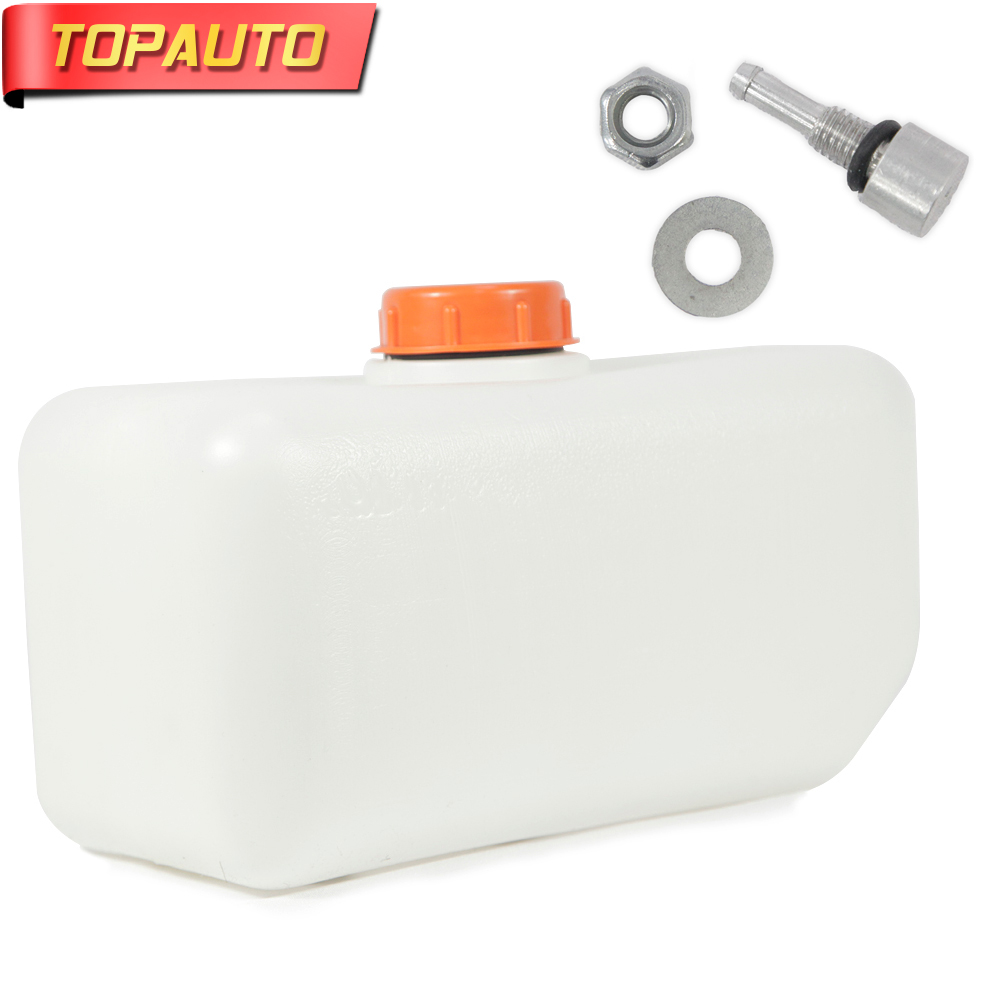 TopAuto 5L Plastic Fuel Tank Cans Spare Diesel Gasoline Oil Storge for Webasto Eberspacher Air Diesel Parking Heater Accessory universal air intake filter silencer muffler for webasto eberspacher air diesel parking heater tank air filter separator