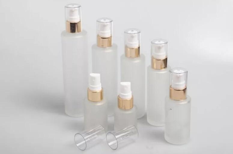 10Pcs Frosted Glass Spray Bottle Lotion Pump Bottle Empty Aromatherapy Perfume Spray Bottle 20ml 30ml 40ml 60ml 80ml 100ml 120ml цена