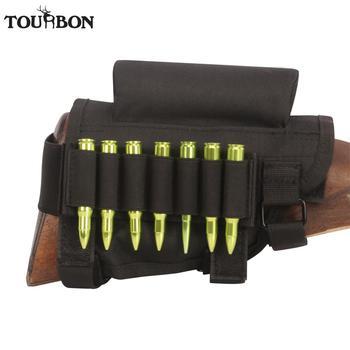 Tourbon Tactical Universal Cheek Rest Riser Pad Buttstock Rifle Cartridges Ammo Shells Holder Shooting Hunting Gun Accessorries