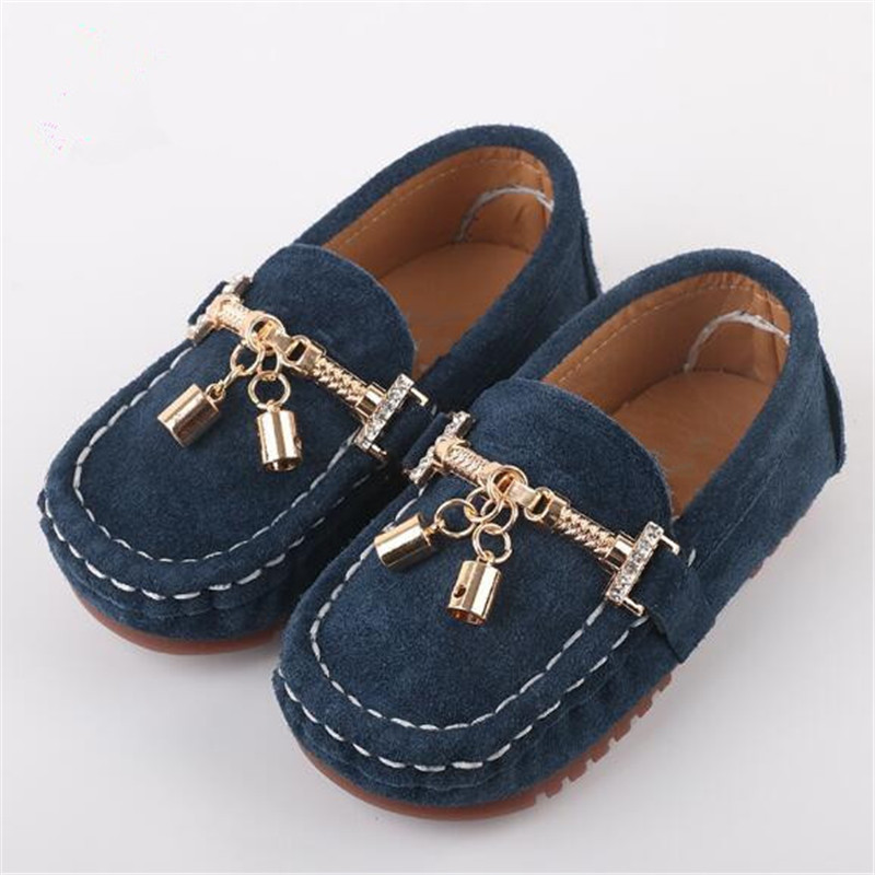 New Fashion Genuine Leather Children Shoes Metal Decoration Spring/Autumn Loafers Boys Leather Shoes Kids Flats Baby Toddler 02BNew Fashion Genuine Leather Children Shoes Metal Decoration Spring/Autumn Loafers Boys Leather Shoes Kids Flats Baby Toddler 02B
