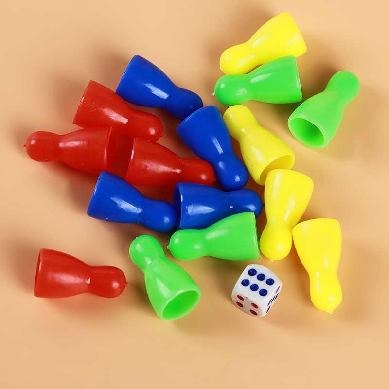 Chino de los niños juego de damas portátil desarrollo educación inteligente juguetes de madera rompecabezas ajedrez juguetes para los niños