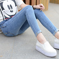 Women Skinny Jeans 2017 Hot Selling Women's Elastic  Jean Female Fitness Denim Pants Plus Size Women Clothing Z28
