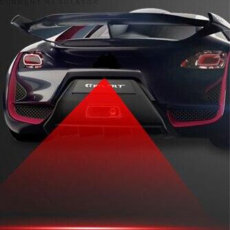 Car Styling Tail Laser Fog Lamp Safety Warning Lights For Hyundai Tucson  Veloster Santa Fe Veracruz