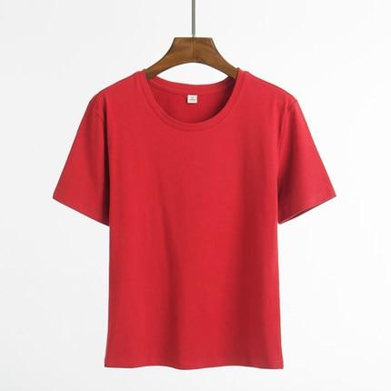 Hemd kurzen ärmeln schüler lose fitting body T hemd Casual Sommer Baumwolle