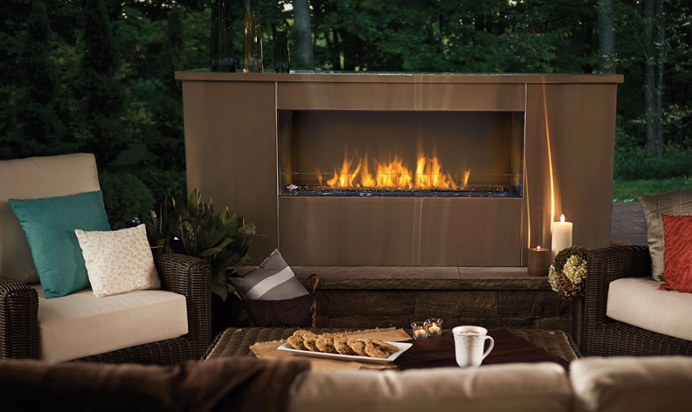 On Sale 48 Inch Bio Ethanol Burner With Remote Control Modern Fireplace Inserts