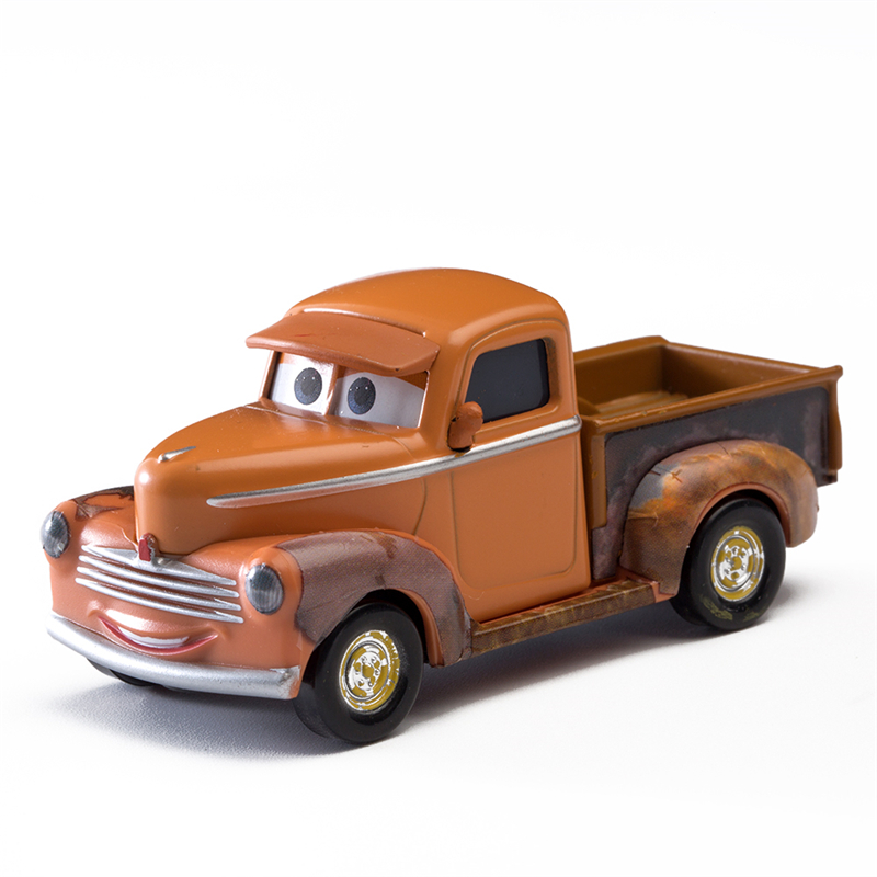 Disney Pixar Cars 2 3 Role Smokey Lightning Mcqueen Jackson Storm Mater 1:55 Diecast Metal Alloy Model Car Toy Children Gift