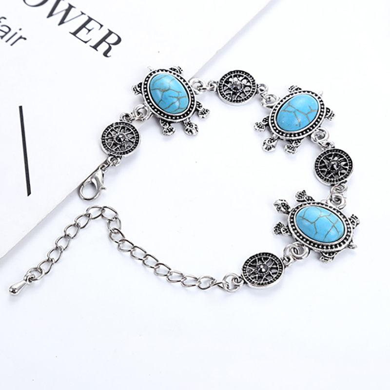 Fashion 2018 Modern Vintage Bohemian Woman Accessories Bracelet and Bangle Girl Jewelry