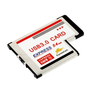 Image 2 - Express Card 54 to USB 3.0 Card 54mm Express USB PCMCIA 2 Ports Card Adapter Transfer Rate Up to 5Gbps For Windows XP/Vista/7