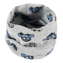 Хлопковый теплый детский шарф, осенне-зимние детские шарфы, детский шарф с круглым вырезом для мальчиков и девочек, милые детские воротники Bufandas