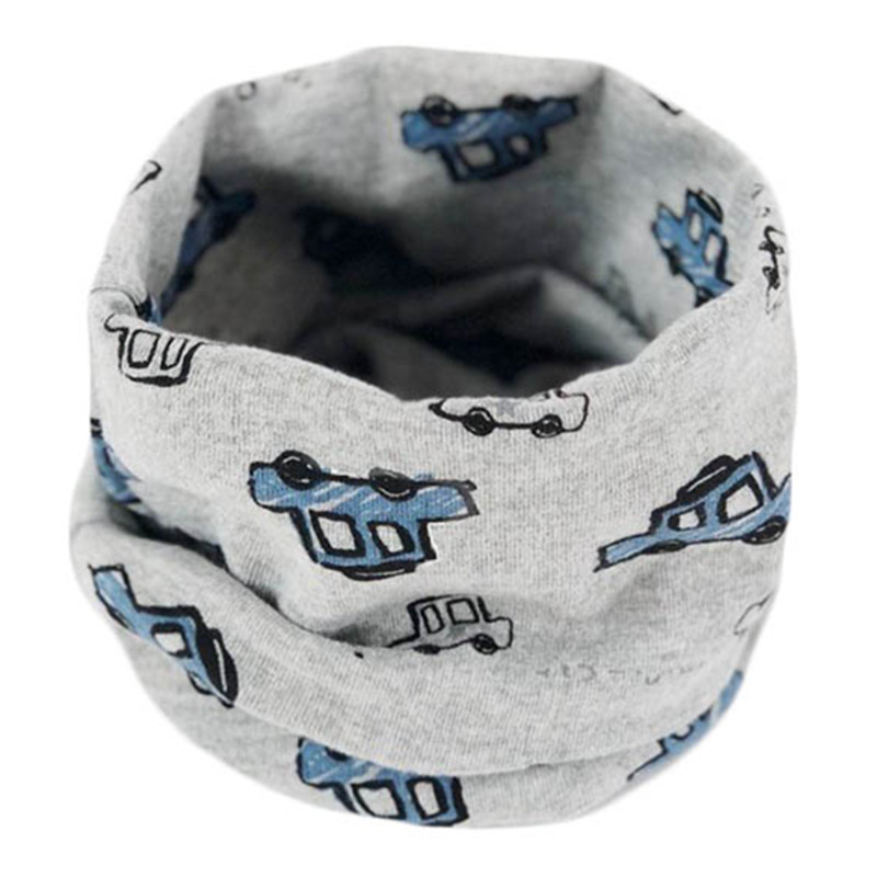 2019 Cotton Warm Baby Scarf Autumn Winter Children Scarves Baby Neck Collar Boys Girl O Ring Scarf Lovely Kids Collars Bufandas