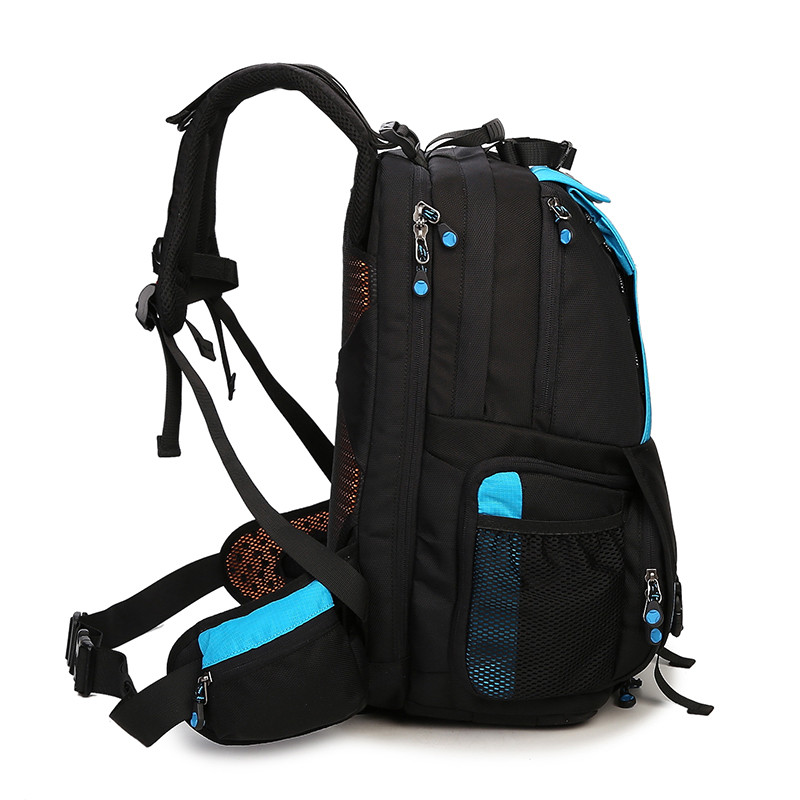 Large Space Trolley Photo SLR Case Camera Nylon Bags Big Capacity Camera Waterproof w/ Rain Cover Backpack Bag-in Camera/Video Bags from Consumer Electronics    2