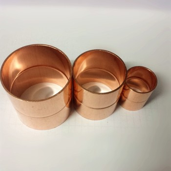 """1 5/8""""  42mm red copper Coupling/Straight Coupling  brass fitting refrigeration parts air condition fittings pipe fitting"""