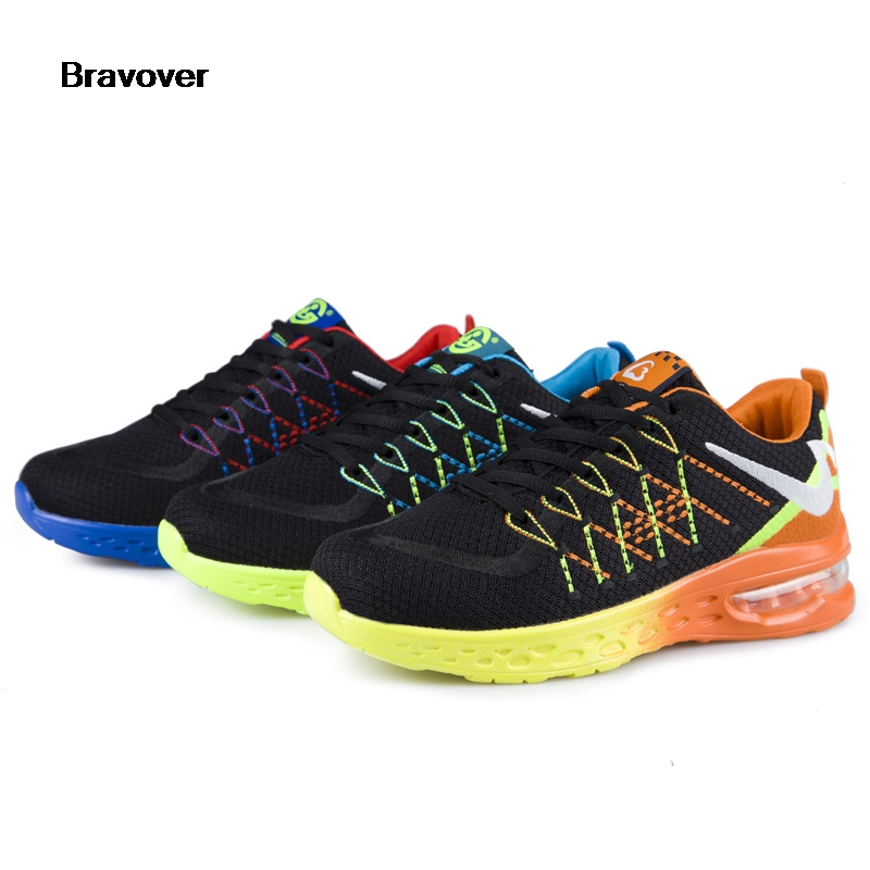 Bravover unisex Shoes Man Breathable Running Shoes for women Sneakers Bounce Summer Outdoor Sport Shoes men shoes Brand Designer