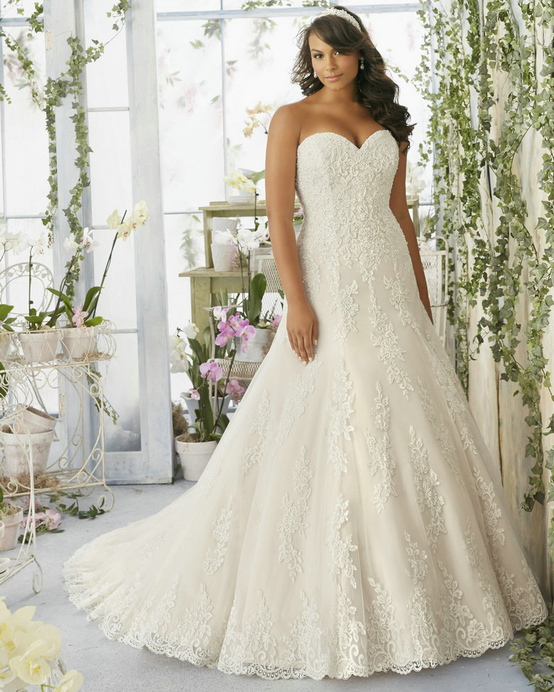 Wedding dresses for big women gown and dress gallery for Womens wedding dresses