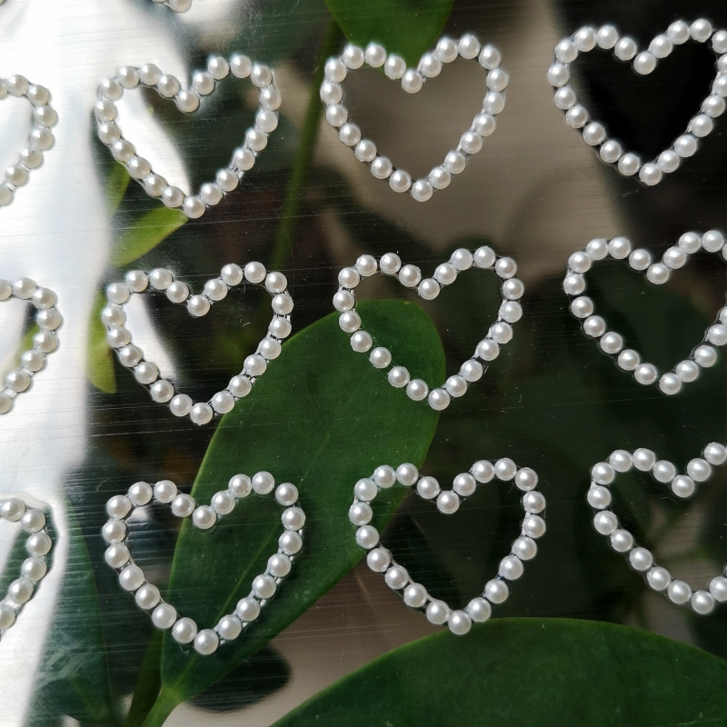 CIRCLE STICKERS craft scrapbooking embellishments 6 sheet mix HEART FLOWER